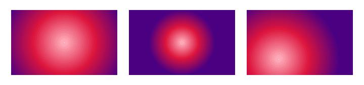 3 circular gradients