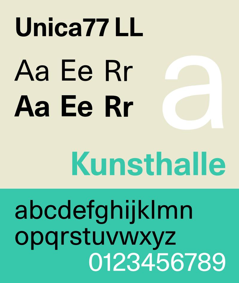 font-specimen