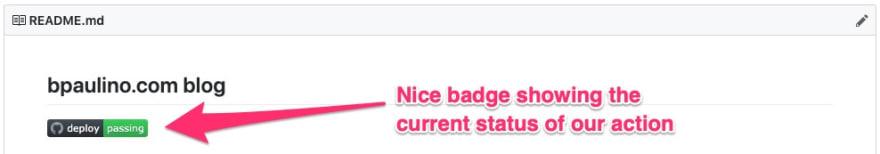 Github Actions Badge