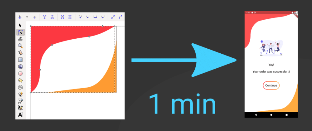 Cover image for Quickly create complex bezier paths in Flutter using SVGs
