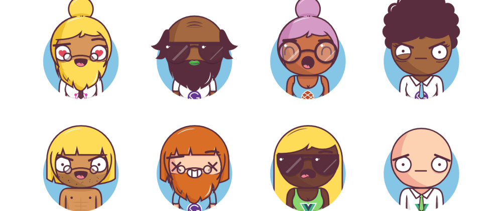Cover image for Big Heads - Easily generate characters for your projects