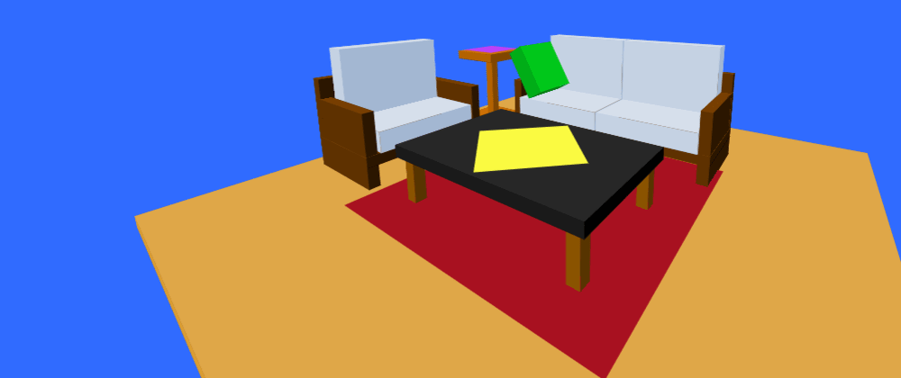 Cover image for #CodepenChallenge 100 DIVS: Living Room