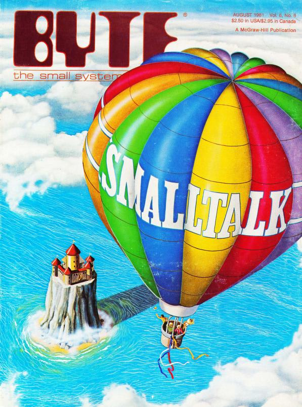 Byte Magazine Cover