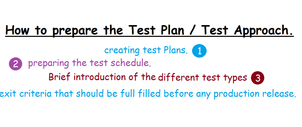 Cover image for What is the Test Plan / Test Approach ? and how to prepare it ?