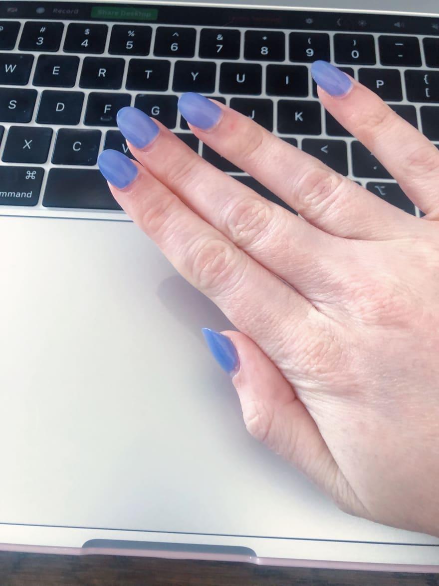 Gel X nail extensions