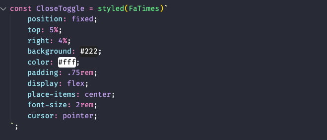 An example of how our appjs state should look