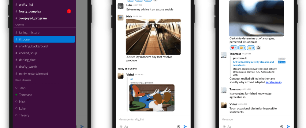 Cover image for Tutorial: How to Build a Slack Clone with React Native — Part 1