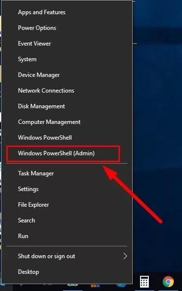 open the Windows PowerShell app
