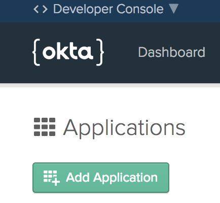 Click Add Application