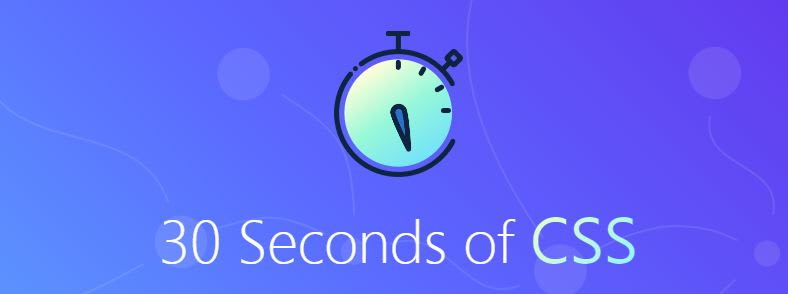 30-seconds-of-css