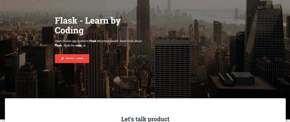 Cover image for Learn Flask by coding