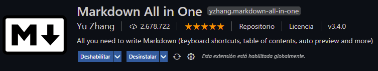markdown all in one