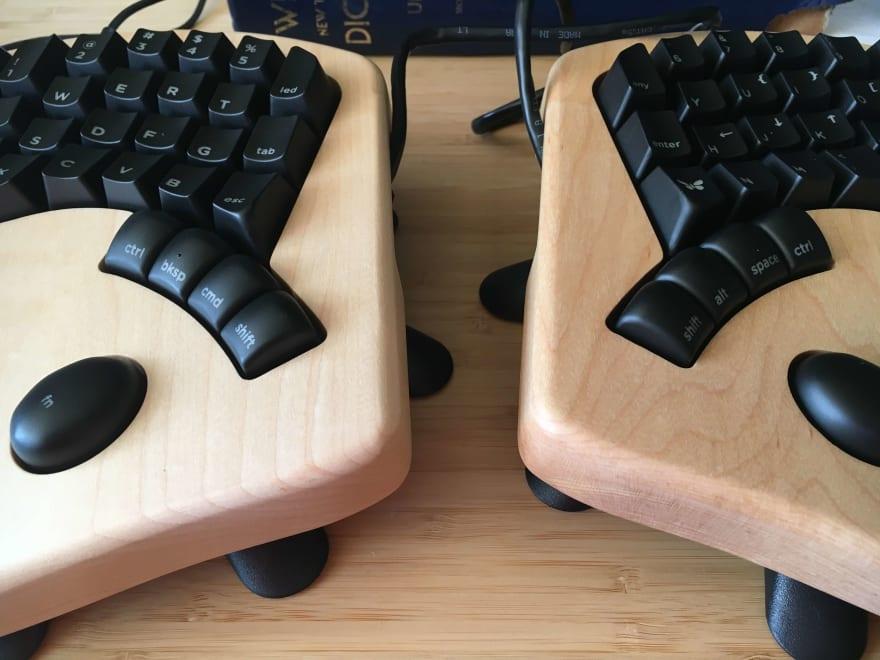 My beautiful new Keyboardio