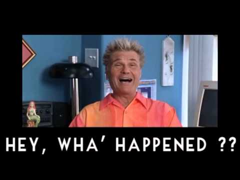 """A meme of Fred Willard's character in """"A Mighty Wind"""" saying """"Hey, Wha' Happened?"""""""