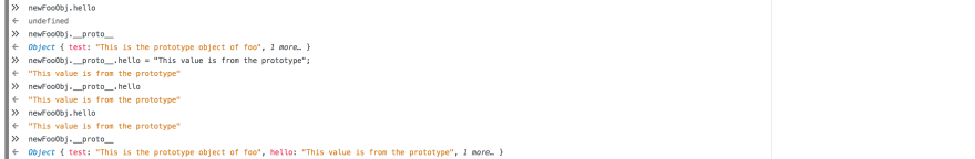 The benefit of Prototype