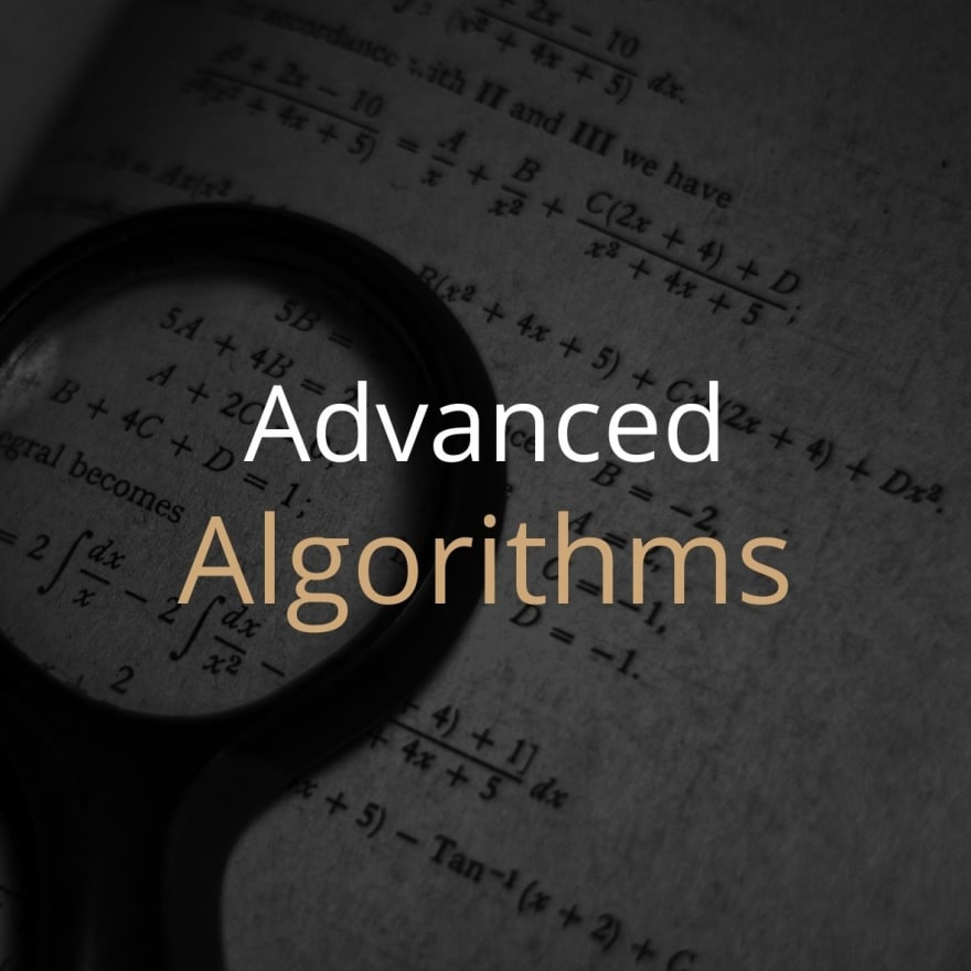 Advanced Algorithms