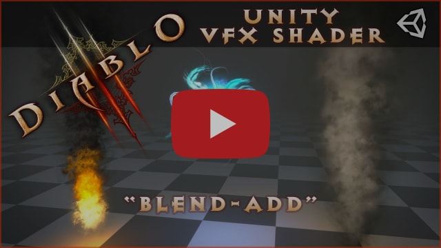The Diablo 3 VFX Shader with Unity. [Shadergraph and Amplify]