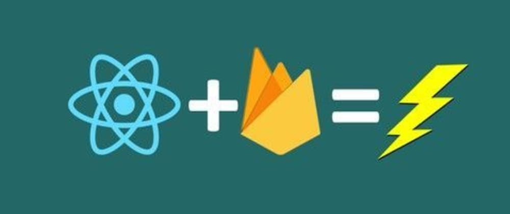 Cover image for React with Firebase:  Firestore setup