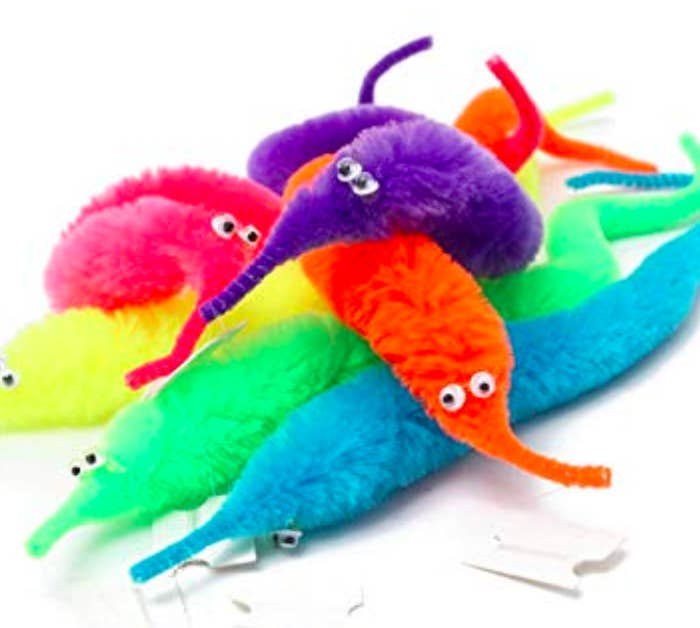 worm on a string toys