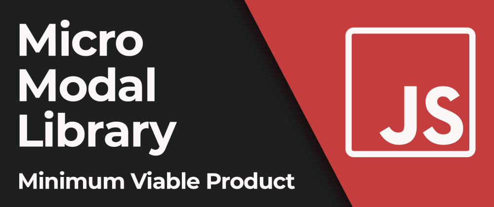 Cover image for Create a JavaScript library. Build MVP