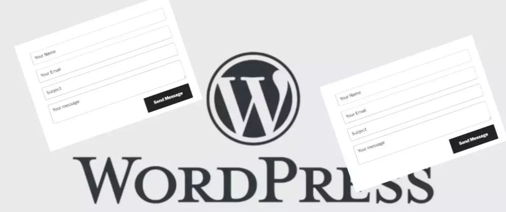 Cover image for Build A Simple WordPress Contact Form Plugin