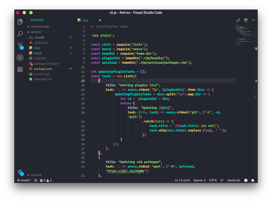 Andromeda for VS Code