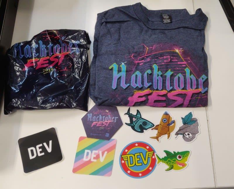 Hacktoberfest Swag - Hurray! open source