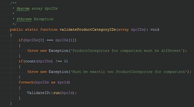 suspicious code listing