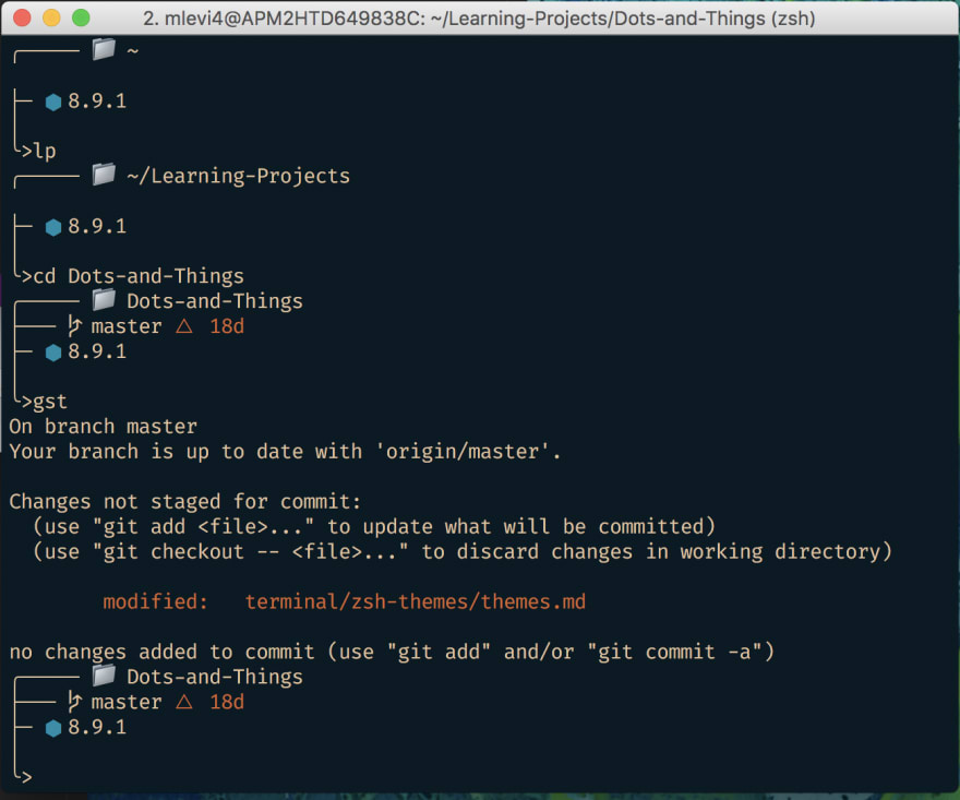 I have a few different terminal themes I use. My current favorite is ducky:  ... - DEV