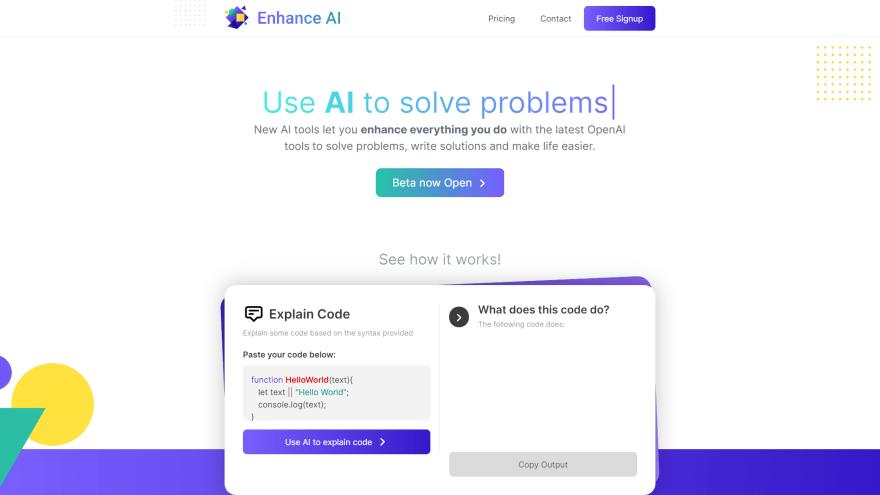 Enhance UI