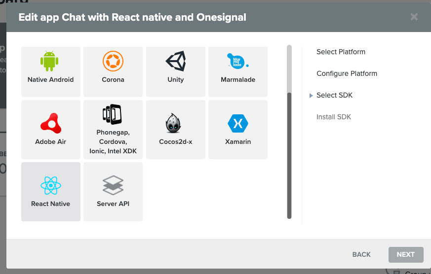 How to use OneSignal with a React Native Chat App | part