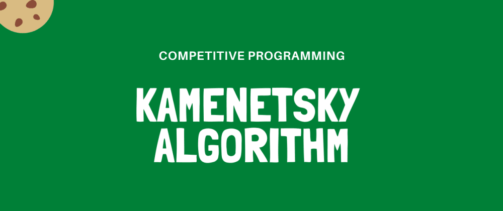 Cover image for Kamenetsky's Algorithm