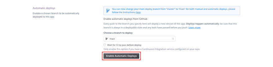 enable-automatic-deploys