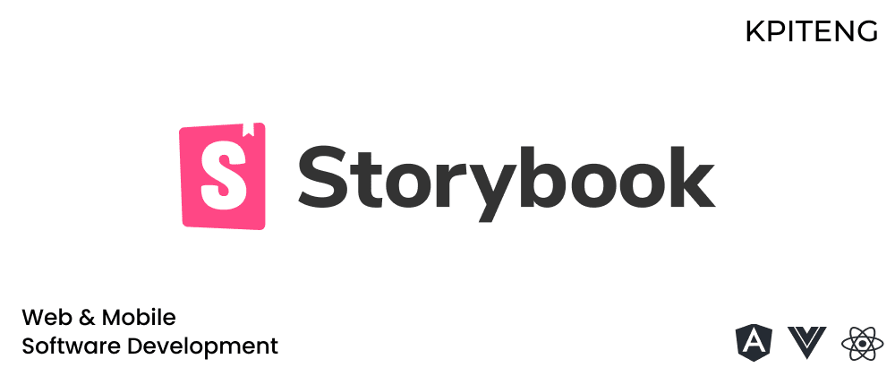 Cover image for Storybook — React Native, React, Angular, Vue