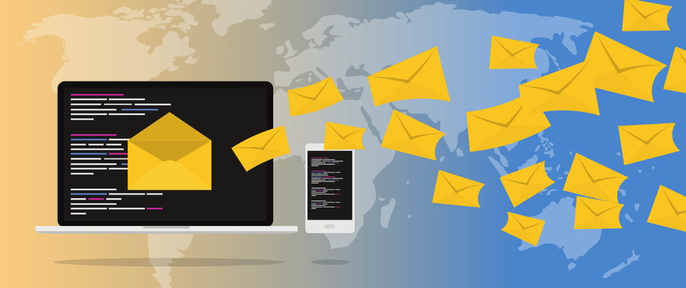 Cover image for Send e-mails directly from front-end  with JavaScript 💥💥