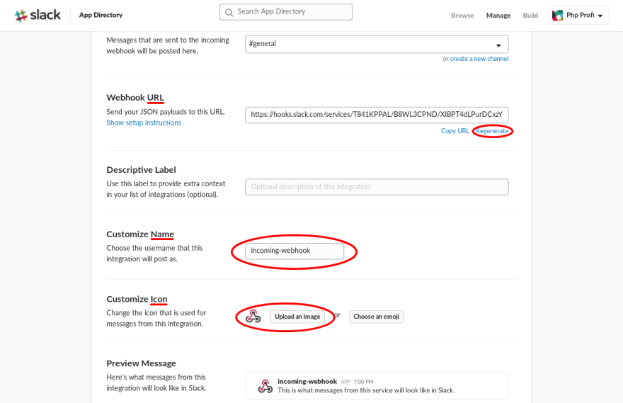Slack  Send simple message  - DEV Community 👩 💻👨 💻
