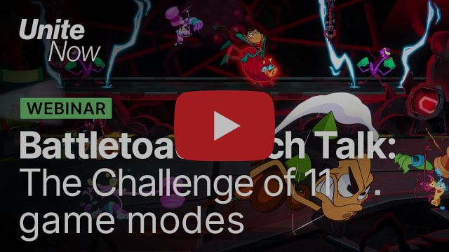 Battletoads Tech Talk: The challenge of 11 game modes | Unite Now 2020