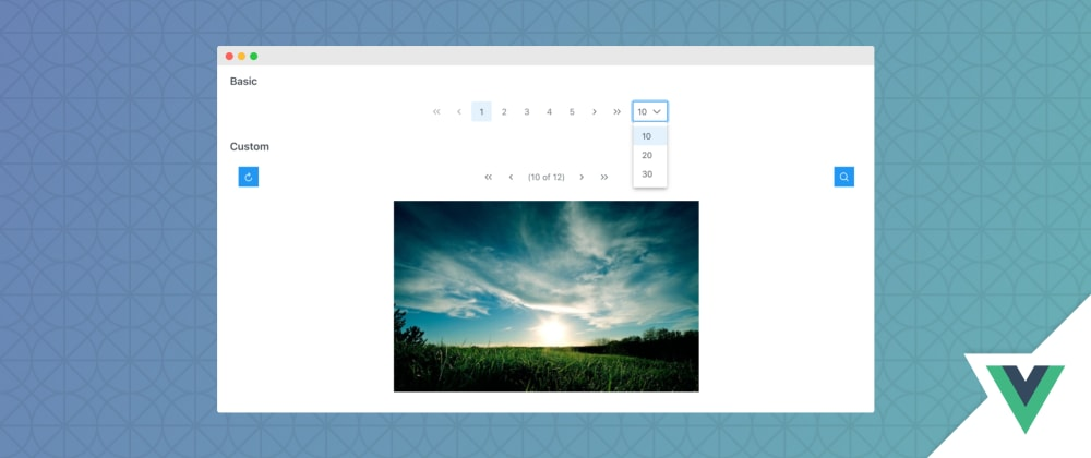 Cover image for Vue3 Paginator