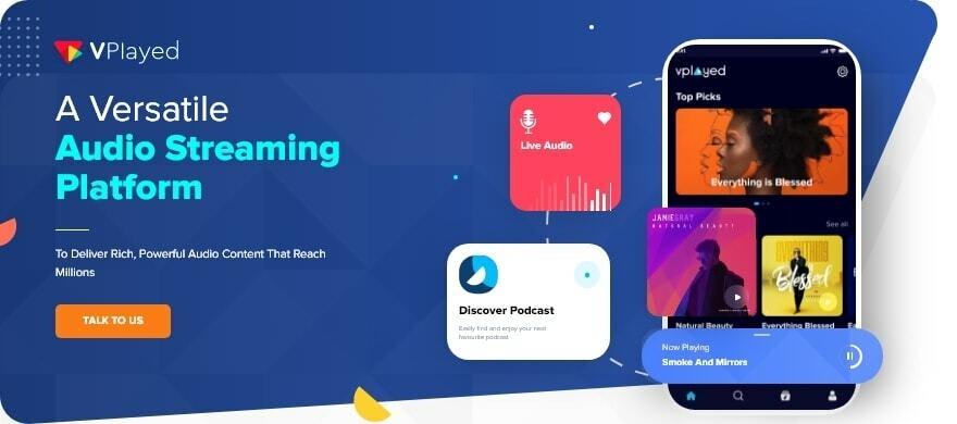 VPlayed Music Streaming Platform