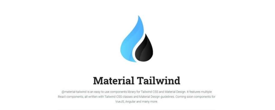 Material Tailwind - UI Kit.