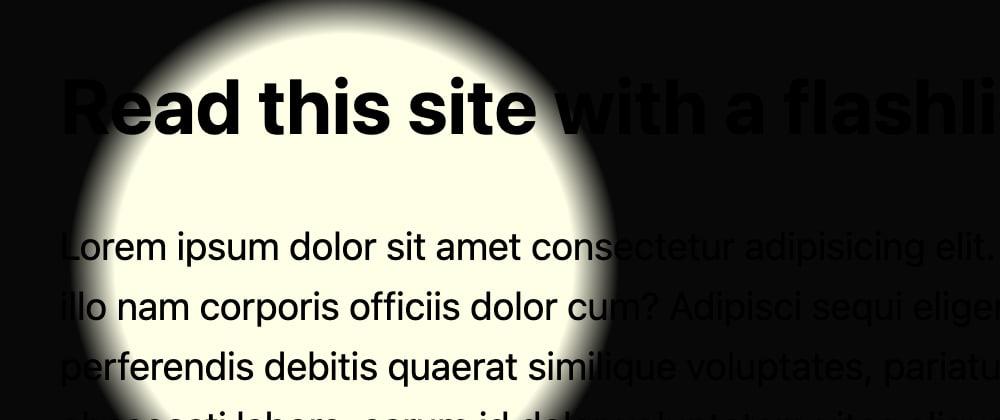Cover image for Flashlight Website