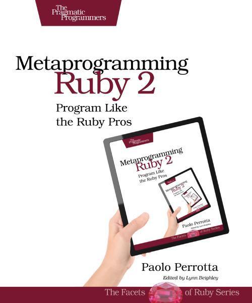 "book cover of ""Metaprogramming Ruby 2"""
