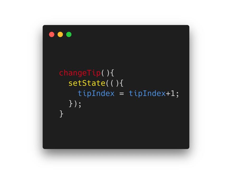 setState Function