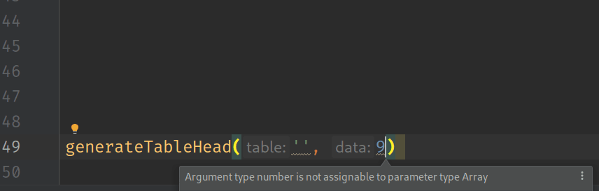 Real-time warnings in the IDE
