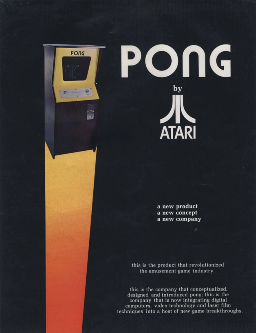 Pong Marketing Material