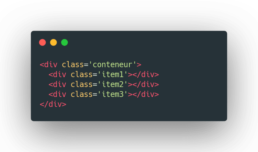 B- Structure HTML