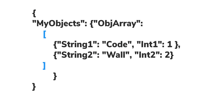 object array example