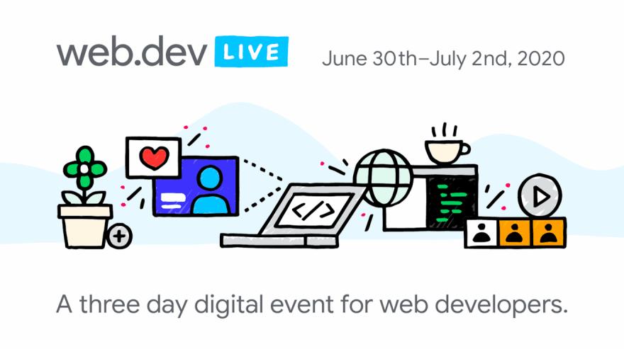 Web Dev Live 2020 event banner