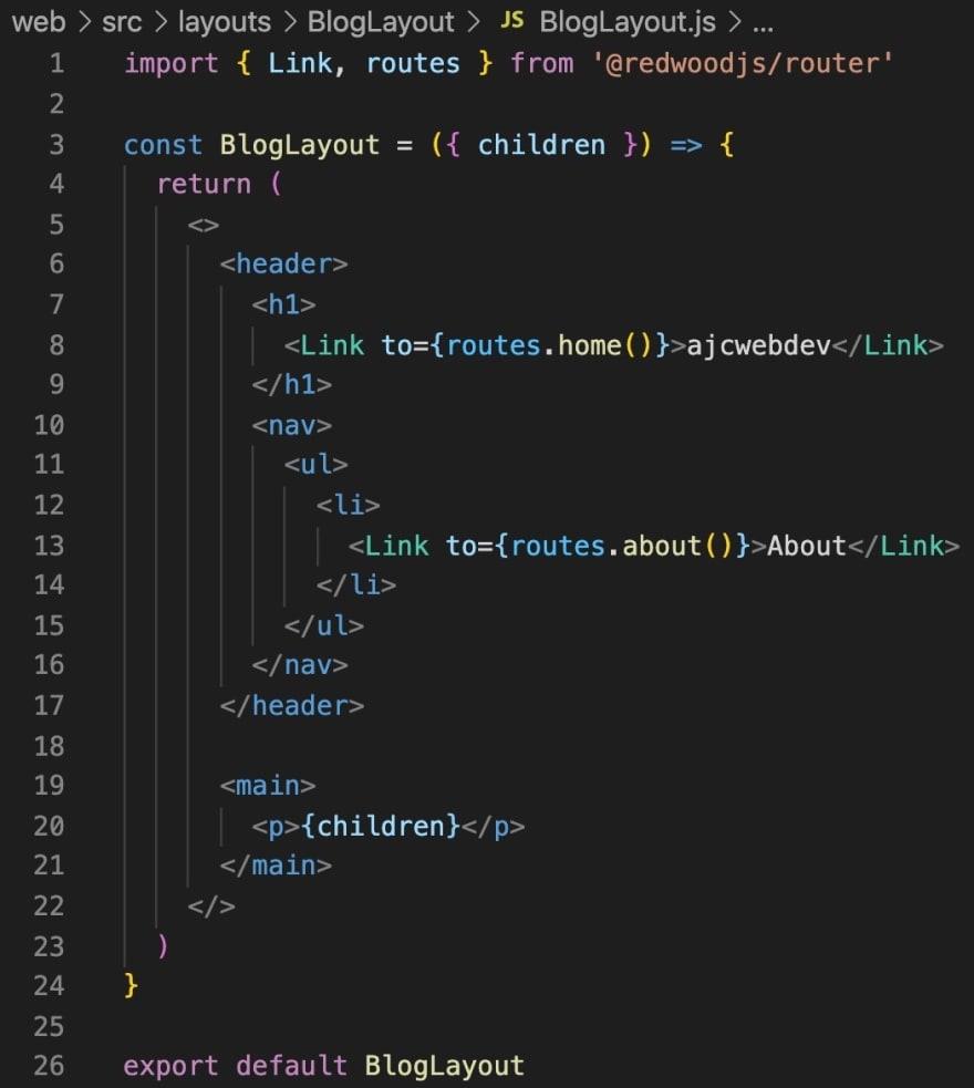 14-BlogLayout-component