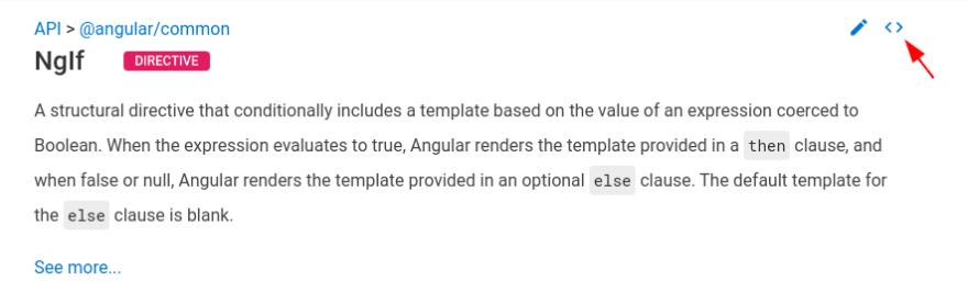 Angular documentation